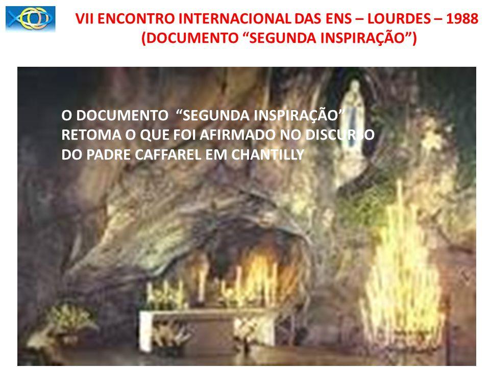 ENCONTRO DE BOGOTÁ (CONSIDERAÇÕES ACORDADAS) 1.O PROJETO SERÁ DIRIGIDO AOS CASAIS DAS ENS 2.