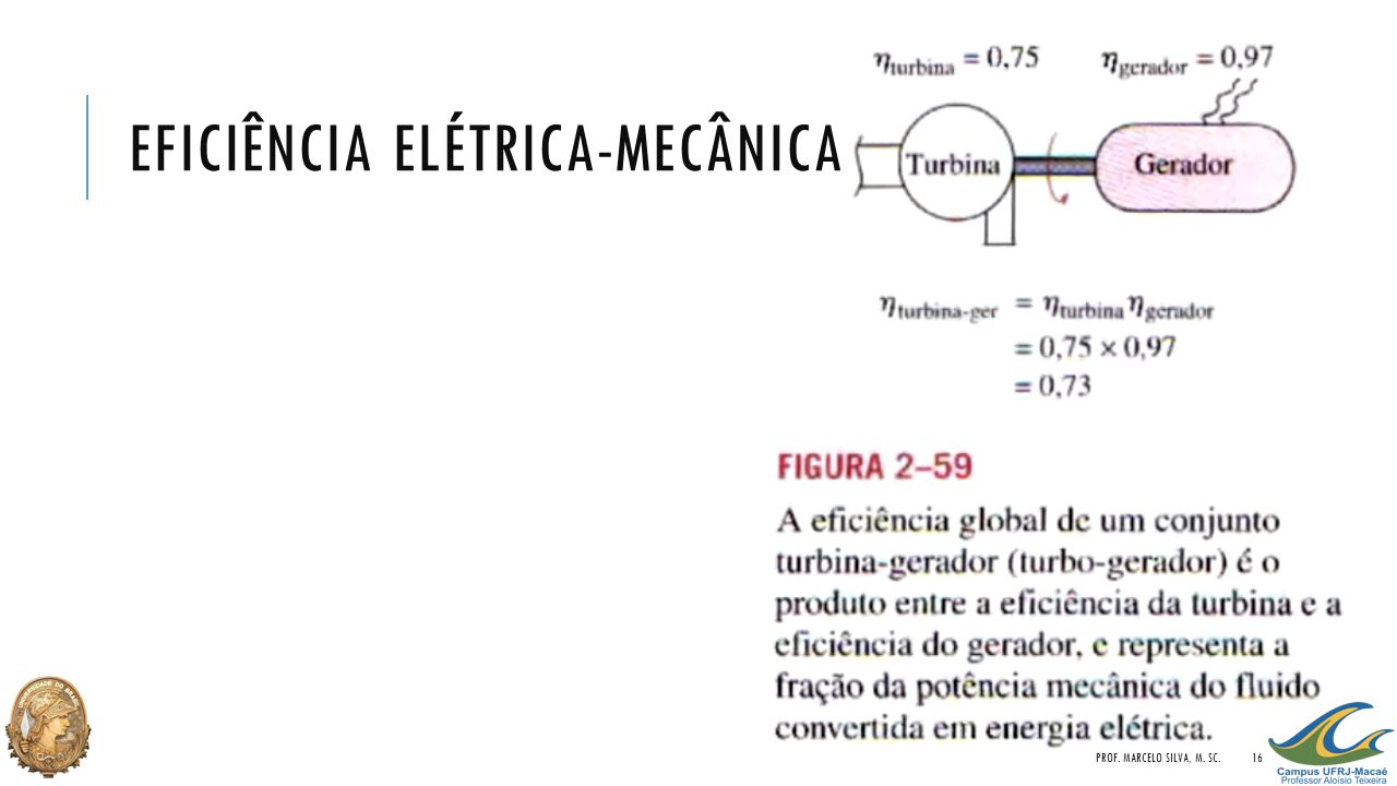 EFICIÊNCIA ELÉTRICA-MECÂNICA PROF. MARCELO SILVA, M. SC.16