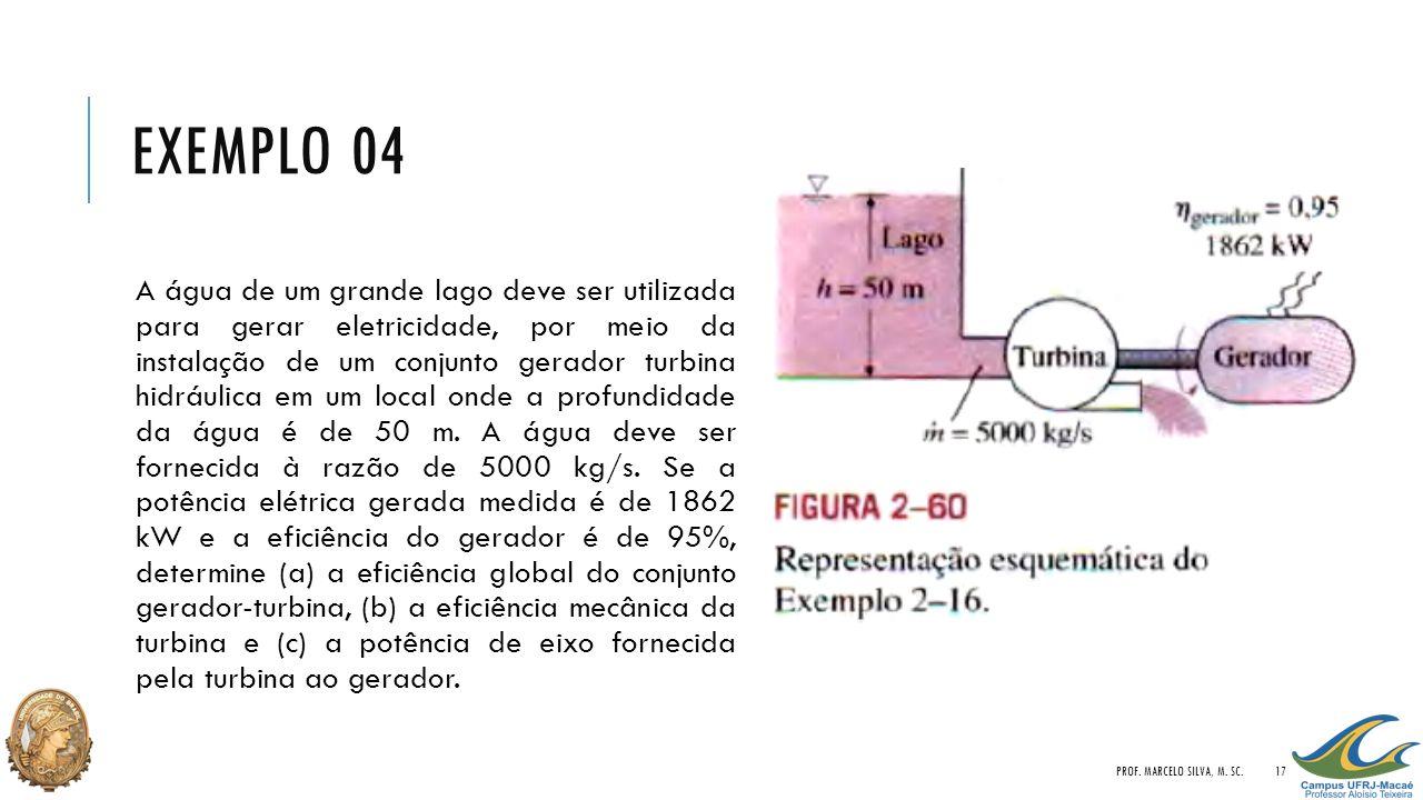 EXEMPLO 04 PROF.MARCELO SILVA, M.