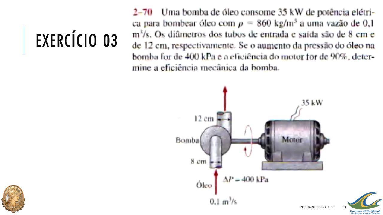 EXERCÍCIO 03 PROF. MARCELO SILVA, M. SC.21