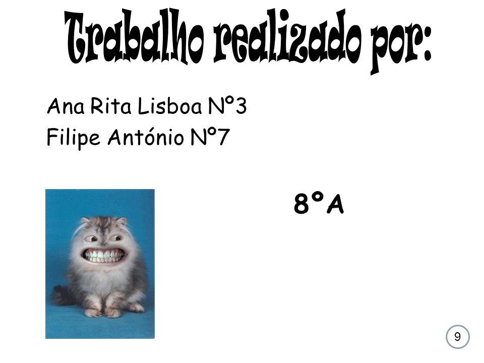 Ana Rita Lisboa Nº3 Filipe António Nº7 8ºA 9