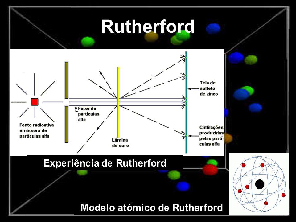 1913 - Bohr Estudou a estrutura atómica baseada nas descobertas de Rutherford.