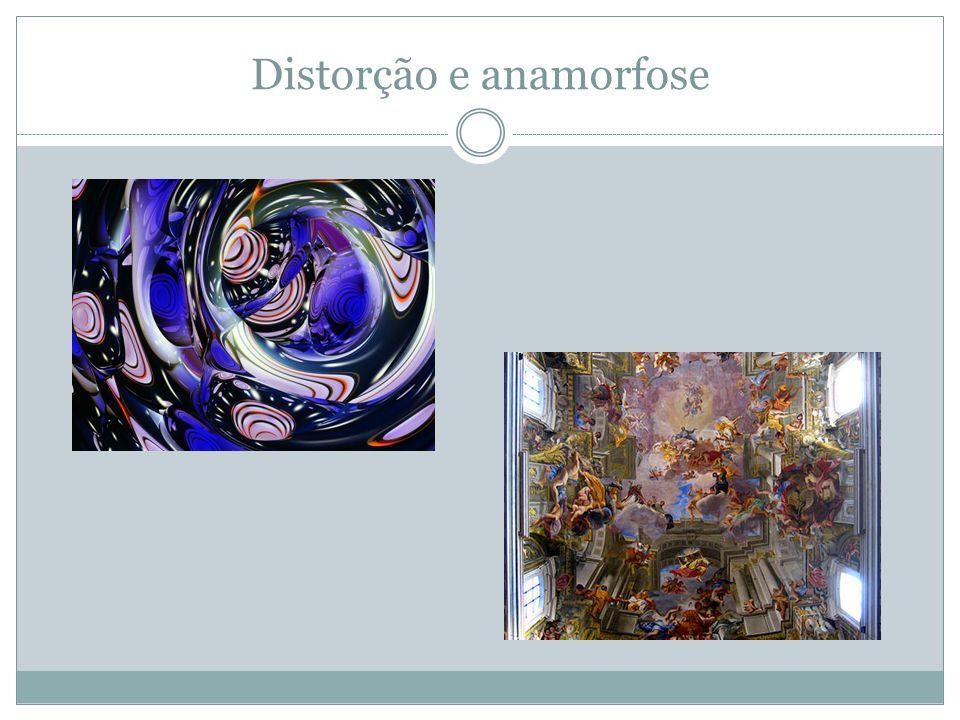Distorção e anamorfose