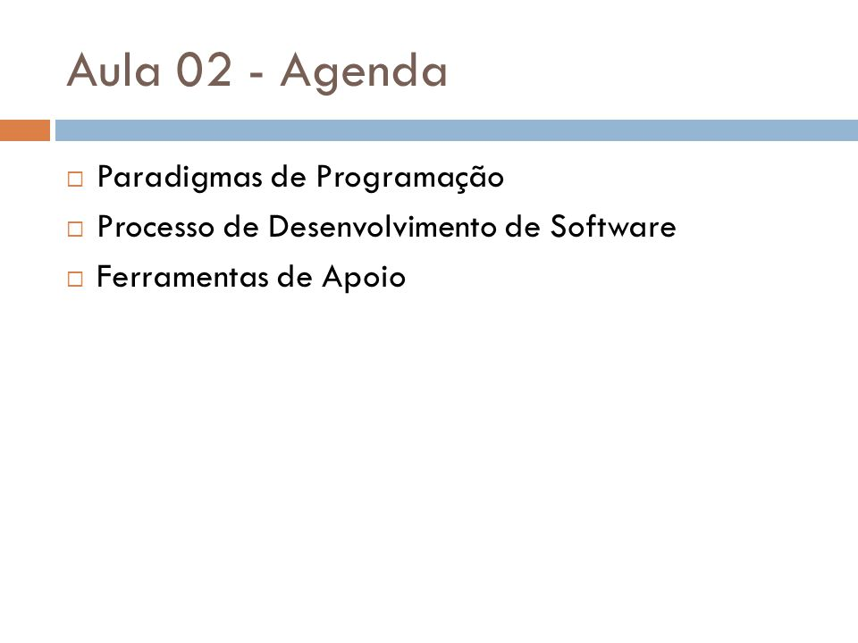 Software Deselegante O software deselegante é aquele software feito sem uma estrutura clara.