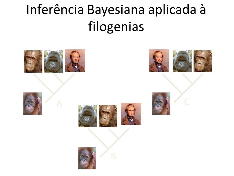 A B C Inferência Bayesiana aplicada à filogenias