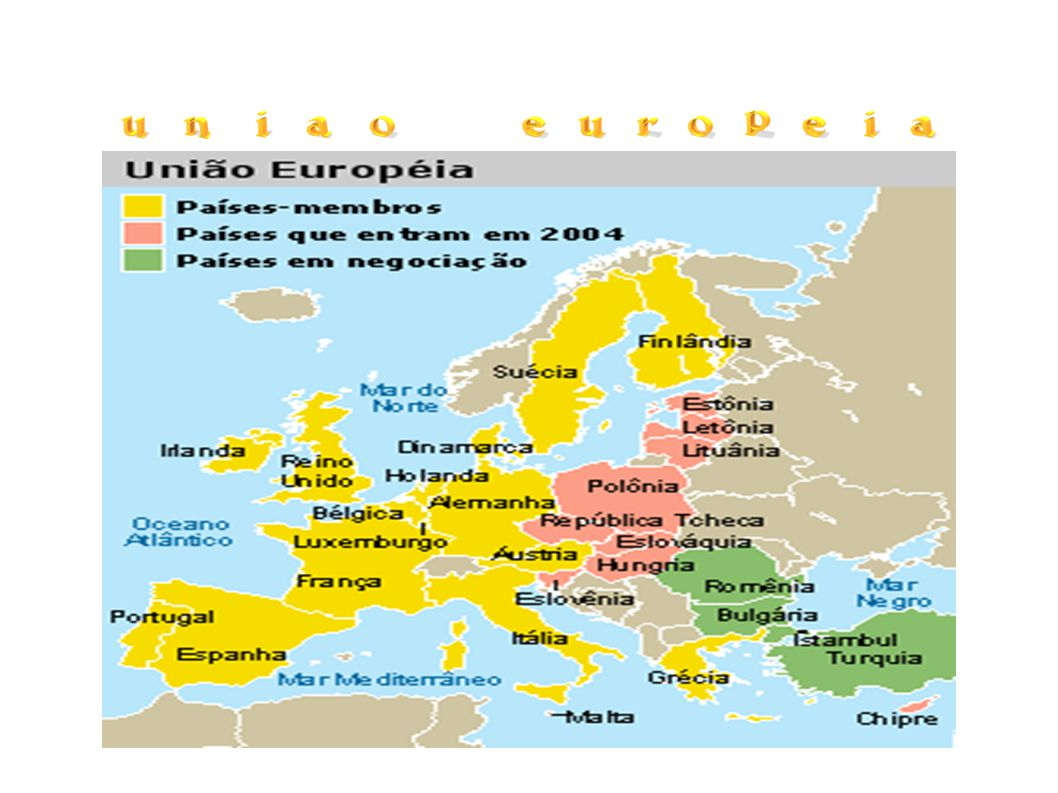 Alemanha Ocidental, França, Itália, Bélgica, Holanda e Luxemburgo são membros-fundadores da semente da União Européia: a Comunidade Européia do Carvão e do Aço.