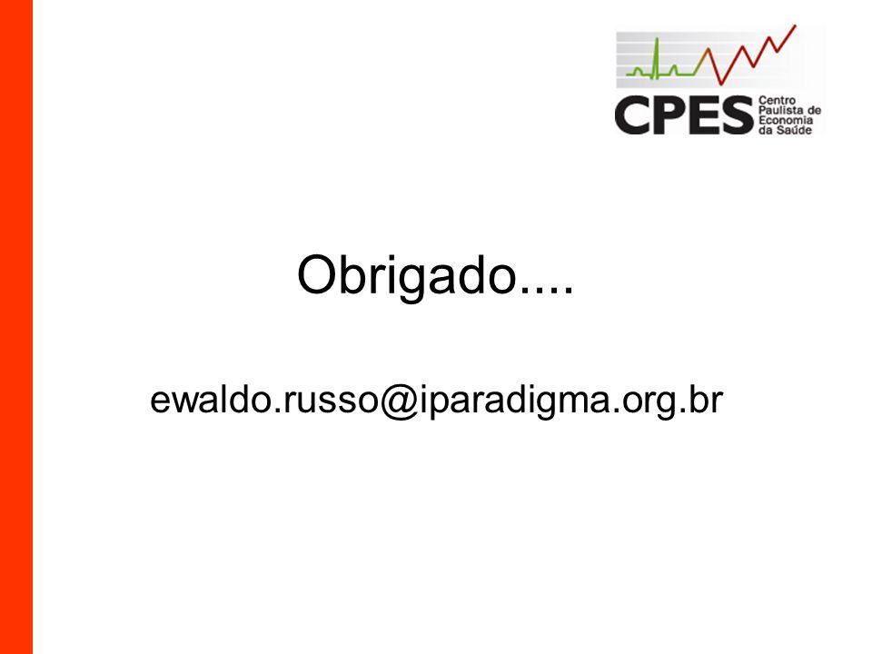 Obrigado.... ewaldo.russo@iparadigma.org.br