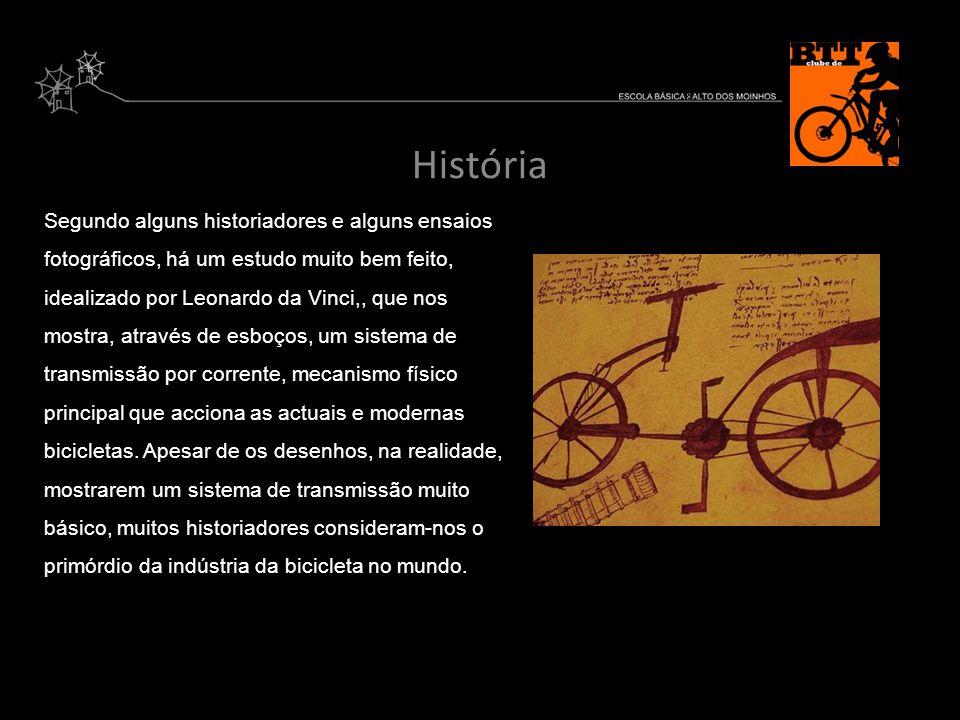 História Segundo alguns historiadores e alguns ensaios fotográficos, há um estudo muito bem feito, idealizado por Leonardo da Vinci,, que nos mostra,
