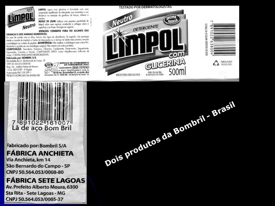 Dois produtos da Bombril - Brasil