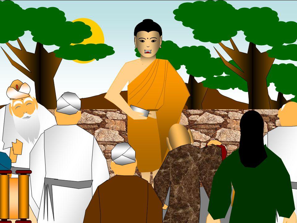 O Buda expôs os seus ensinos através de diálogos com os seus adeptos. Naquela época, um crescente número de pessoas começava a abandonar o bramanismo