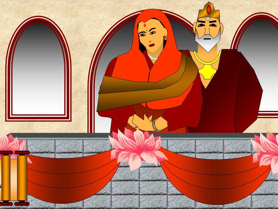 A Rainha chamava-se Maya, cujo pai era tio do Rei e que também era soberano de um distrito vizinho, do mesmo clã Sakya. Conta-se que durante o Festiva