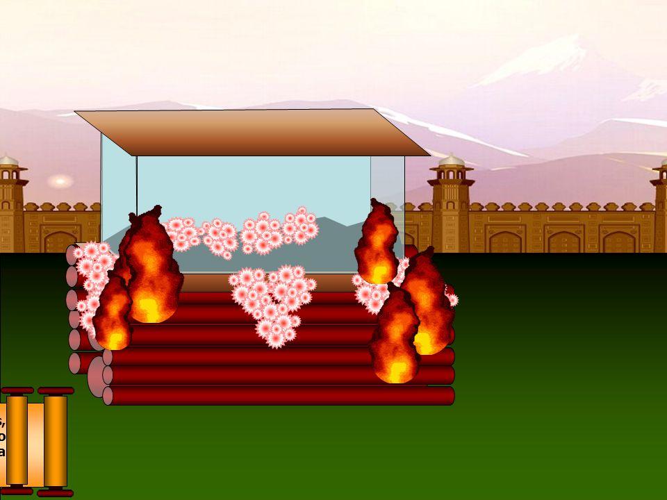 No palácio real, entretanto, a alegria seguiu-se uma profunda tristeza, pois, no sétimo dia, morria repentinamente a amável Rainha Maya, sendo o prínc