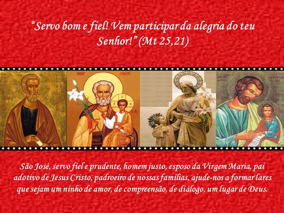 Os pais de família encontram em José o ideal da vigilância e da solicitude paterna; os esposos, o exemplo perfeito do amor, da concórdia, da fidelidad
