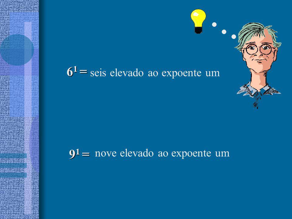 2) Escreva em forma de potenciação : 2 x 2 x 2 x 2 x 2 = = 3 x 3 = 1 x 1 x 1 x 1 x 1 x 1 = 5 x 5 x 5 x 5 = 1) Na operação a) Que nome se dá ao número 2 .