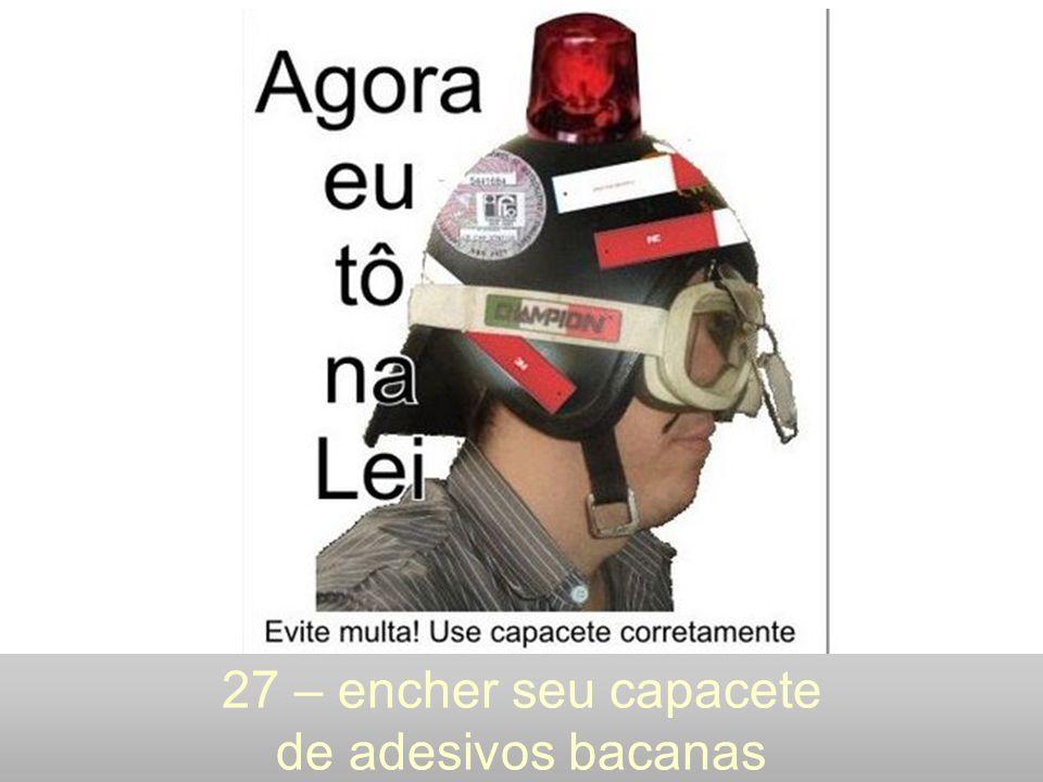 27 – encher seu capacete de adesivos bacanas