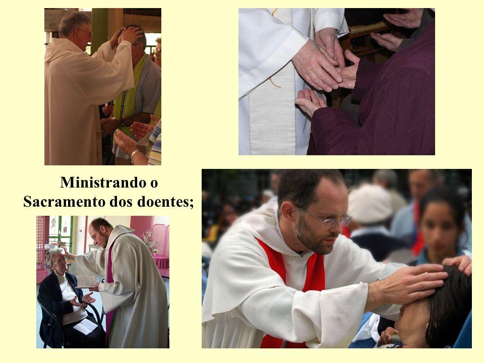 Abençoando, mesmo ao bispo a quem devem obediência