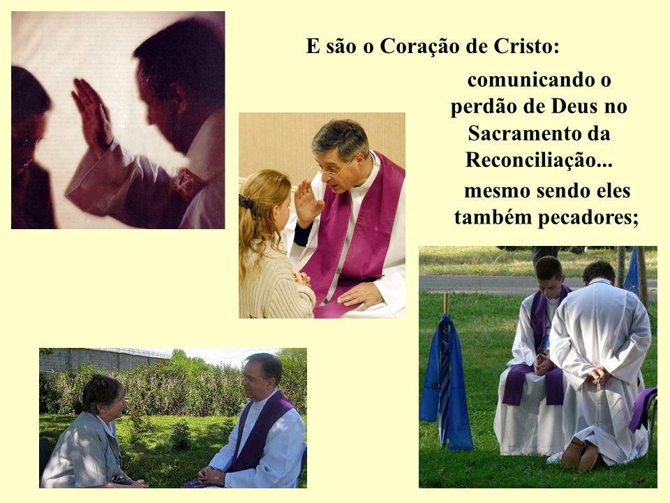 À sua voz e nas suas mãos, Cristo se faz presente no pão que se converte no seu Corpo e o vinho que se converte no seu Sangue. Privilégio inaudito, mi