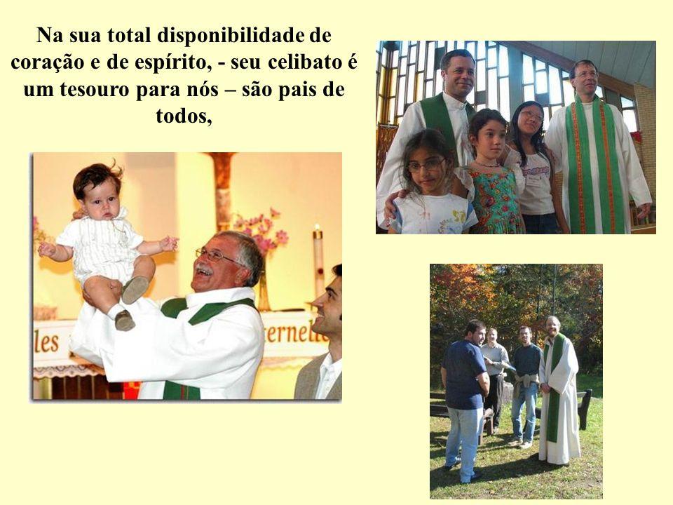 São a presença de Jesus Cristo no meio de nós, nas nossas alegrias, e nas nossas tristezas. nas nossas provações,