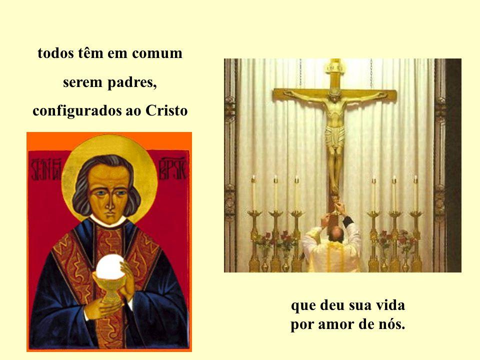 bispos, arcebispos, cardeais, ou papa… Eles são...