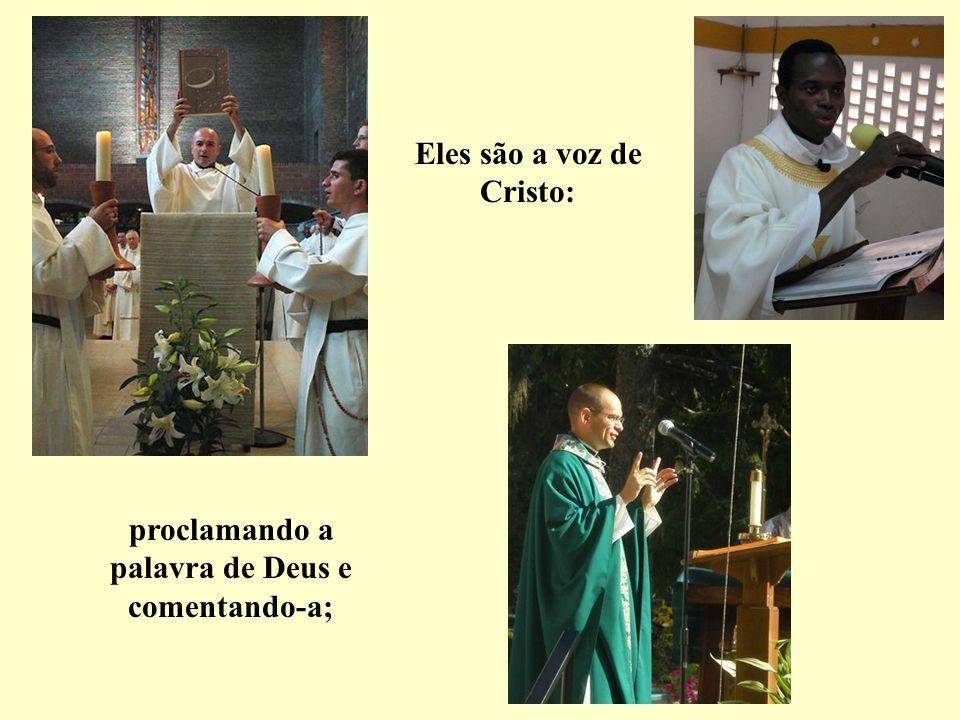 todos têm em comum serem padres, configurados ao Cristo que deu sua vida por amor de nós.