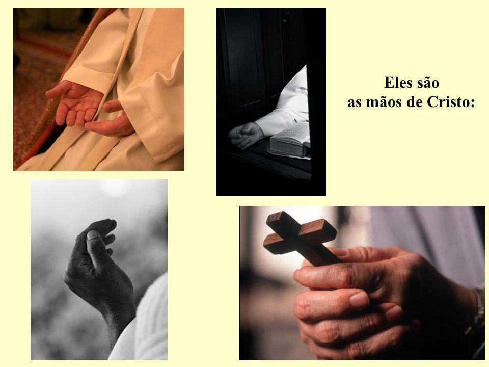 Eles anunciam o Reino, evangelizando e anunciando aos homens o amor do Pai por todos eles.