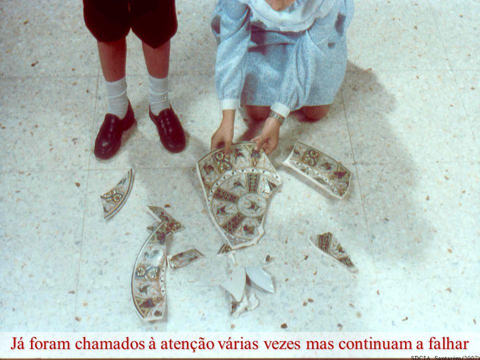 O João e a Teresa são mentirosos e agressivos O João e a Teresa são mentirosos e agressivos SDCIA, Santarém (2007)