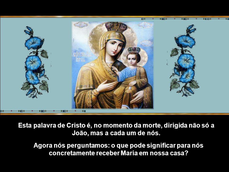 De fato, quem é perfeito já não vive, mas nele vive Cristo; e, como nele vive Cristo, quando se fala dele a Maria diz-se: Eis aí teu filho, isto é, Cristo.