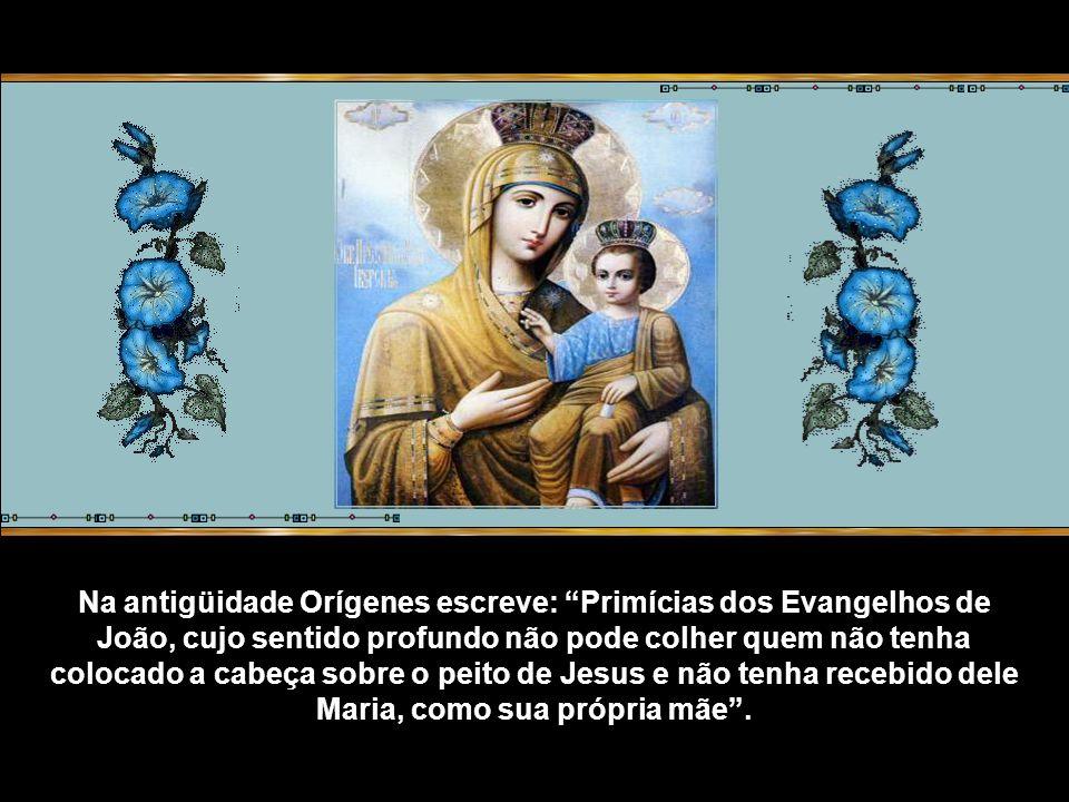 Pode-se pensar que Maria tenha vivido no círculo do discípulo que Jesus amava, sem ter tido nenhuma influência no lento trabalho de reflexão do Quarto Evangelho