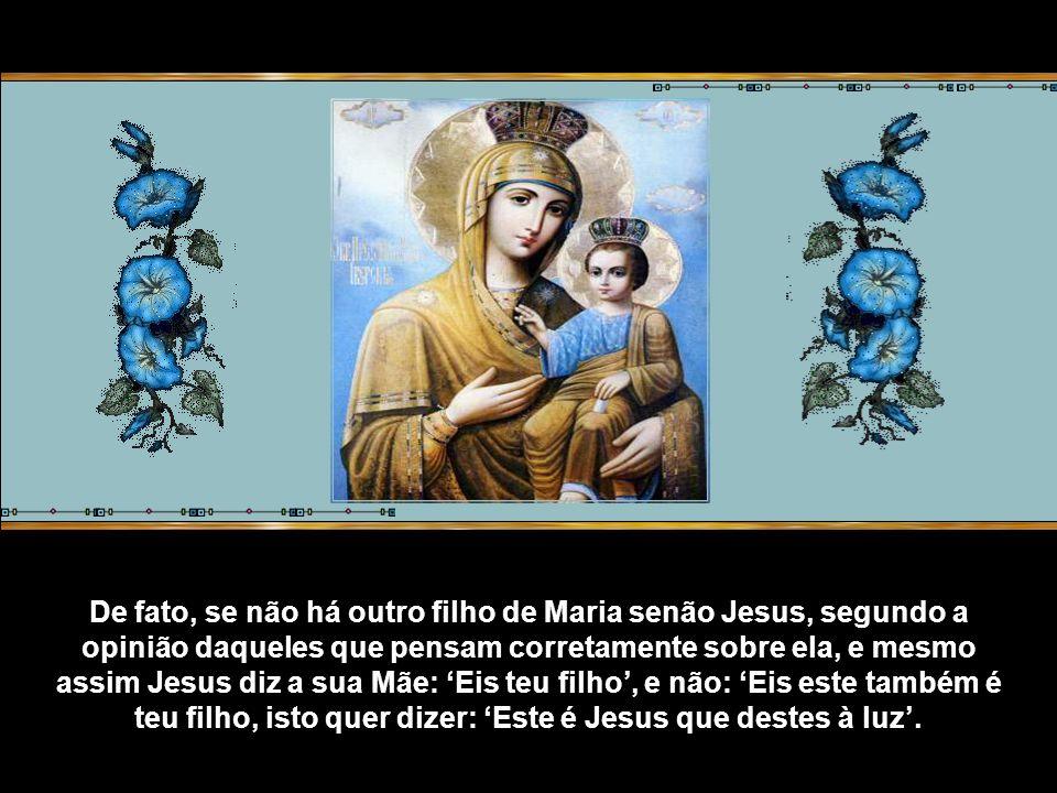 Na antigüidade Orígenes escreve: Primícias dos Evangelhos de João, cujo sentido profundo não pode colher quem não tenha colocado a cabeça sobre o peito de Jesus e não tenha recebido dele Maria, como sua própria mãe.