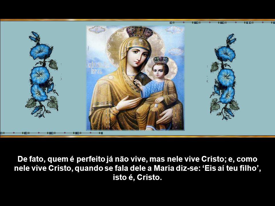 De fato, se não há outro filho de Maria senão Jesus, segundo a opinião daqueles que pensam corretamente sobre ela, e mesmo assim Jesus diz a sua Mãe: Eis teu filho, e não: Eis este também é teu filho, isto quer dizer: Este é Jesus que destes à luz.