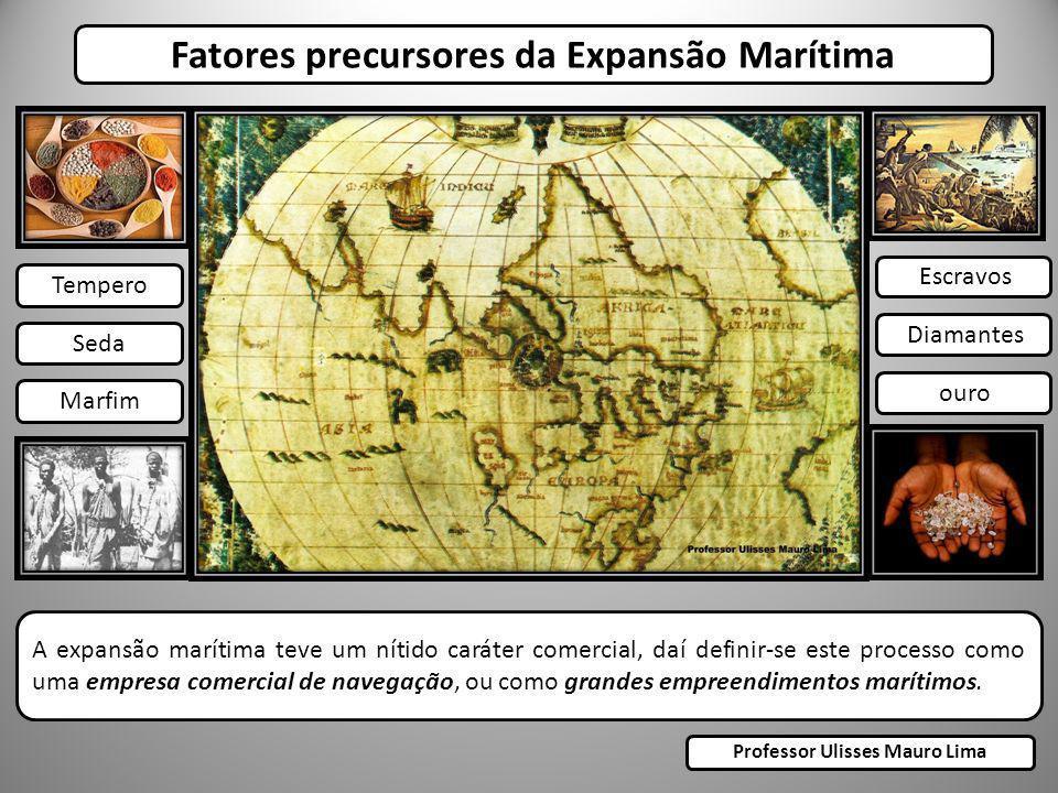 Fatores precursores da Expansão Marítima A expansão marítima teve um nítido caráter comercial, daí definir-se este processo como uma empresa comercial