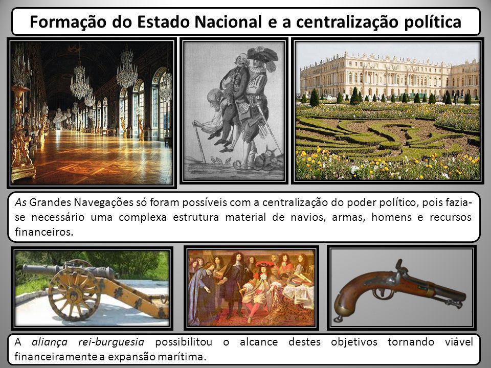 Formação das monarquias nacionais durante os séculos XIV e XV