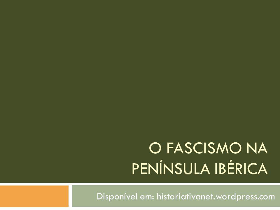 O Franquismo na Espanha Proclamação da República (1931) Falange Criação da Falange- nacionalistas com o discurso anticomunista e antiliberal Frente Popular A esquerda estava reunida na Frente Popular e venceram as eleições de 1936.