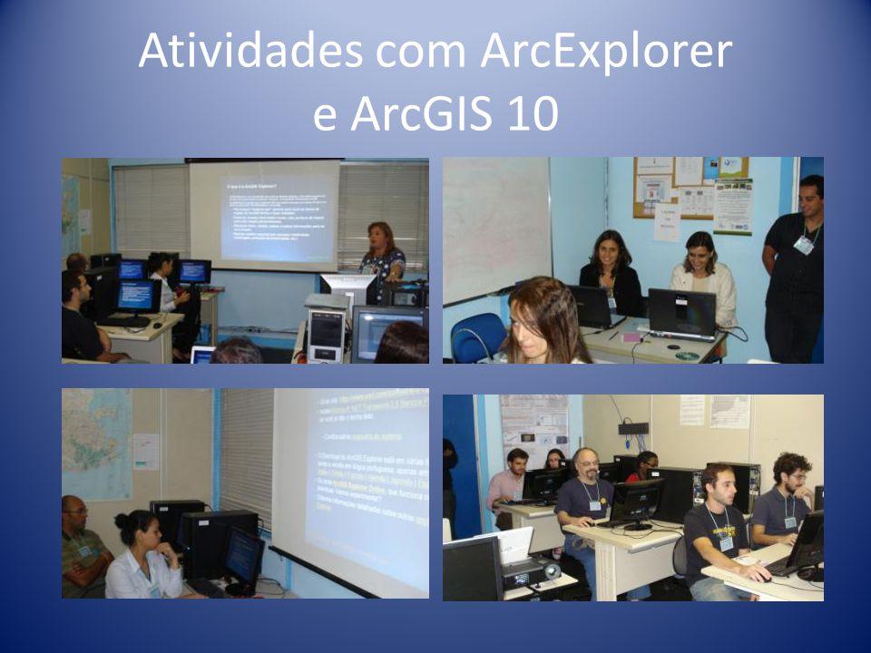 Atividades com ArcExplorer e ArcGIS 10