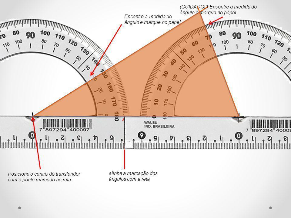 Construa um triângulo com dois ângulos de 75 o e 55 o e um lado de 8 cm que não esteja compreendido entre esses ângulos.
