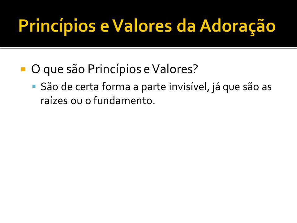 Princípios Valores Prioridades Resultados Finais Práticas