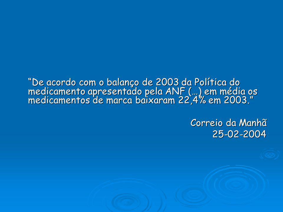 Preços mais baixos Mercado competitivo Mercado competitivo Promoção da concorrência e inovação Promoção da concorrência e inovação Preços dos medicame