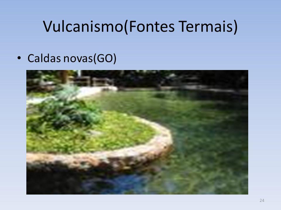 24 Vulcanismo(Fontes Termais) Caldas novas(GO)