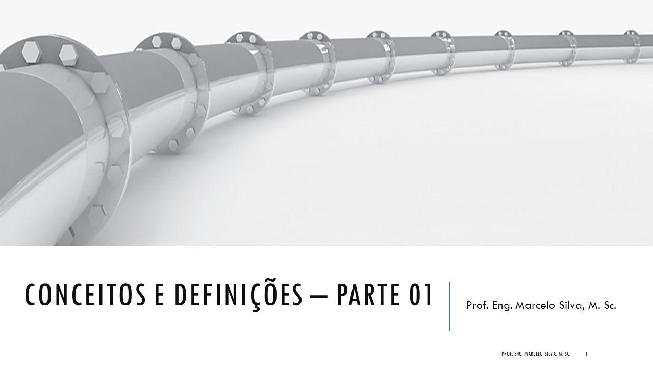CONCEITOS E DEFINIÇÕES – PARTE 01 Prof. Eng. Marcelo Silva, M. S c. PROF. ENG. MARCELO SILVA, M. SC.1