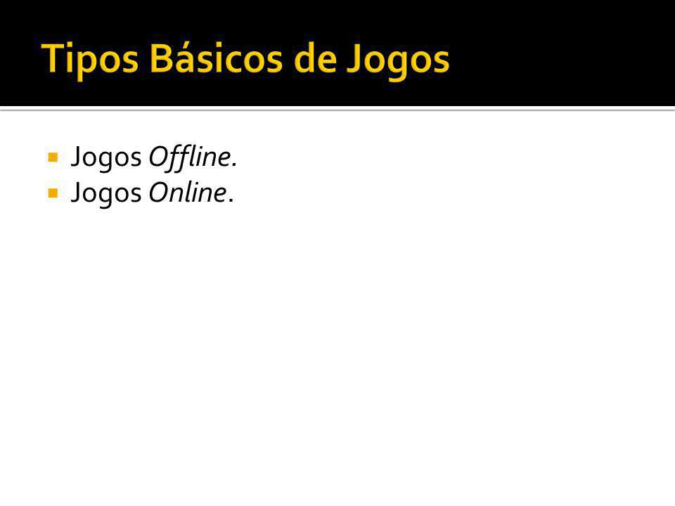 Jogos Offline. Jogos Online.