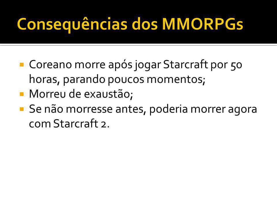 Coreano morre após jogar Starcraft por 50 horas, parando poucos momentos; Morreu de exaustão; Se não morresse antes, poderia morrer agora com Starcraf