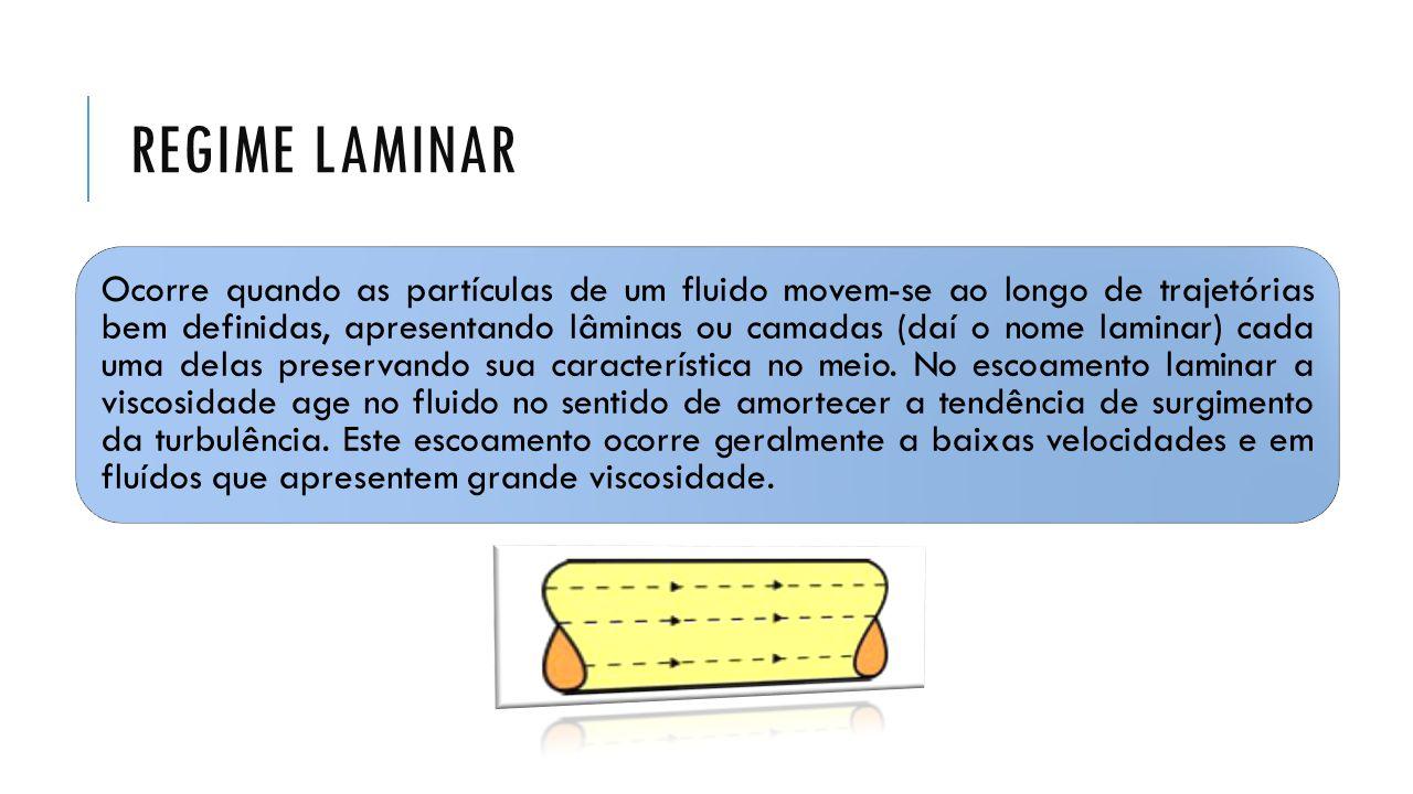 VAZÃO E FLUXO DE MASSA