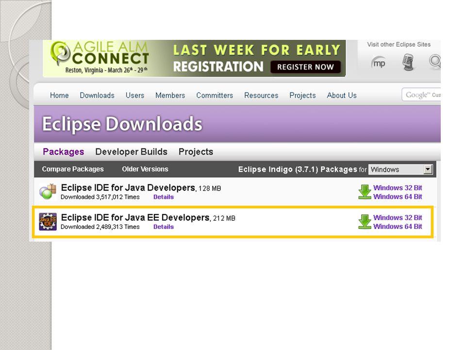 Apache TomCat No site http://tomcat.apache.org/http://tomcat.apache.org/ Baixe o Zip da última versão estável.