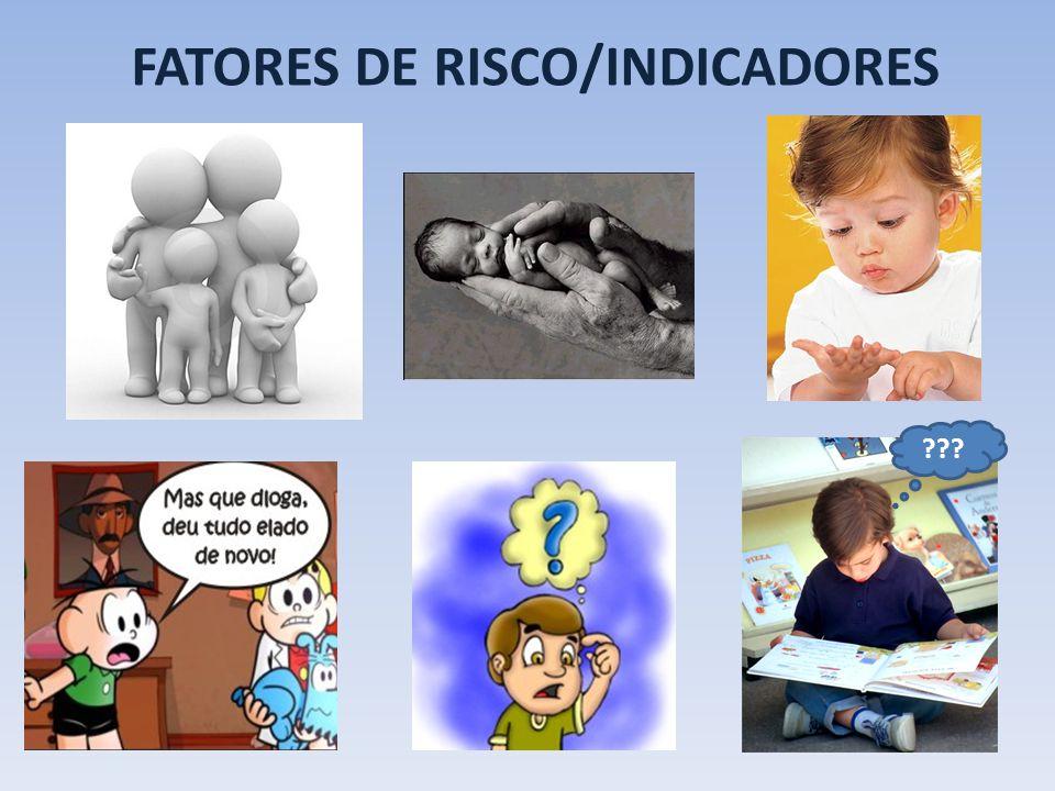 FATORES DE RISCO/INDICADORES ???