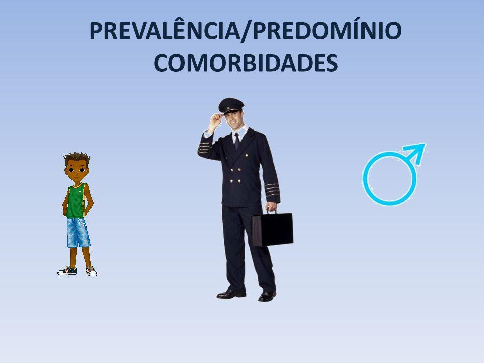 PREVALÊNCIA/PREDOMÍNIO COMORBIDADES
