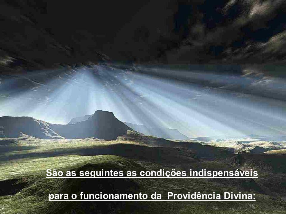 Vamos agora estudar a Providência Divina. VAMOS ESTUDAR AGORA A PROVIDÊNCIA DIVINA