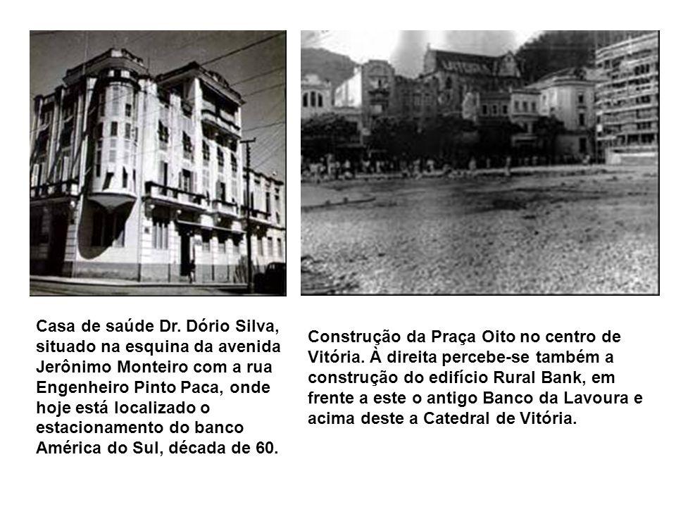 Rua Francisco Generoso da Fonseca no Jardim da Penha, ao fundo à direita vê-se o centro José Tarquino, atualmente está localizado a igreja católica de