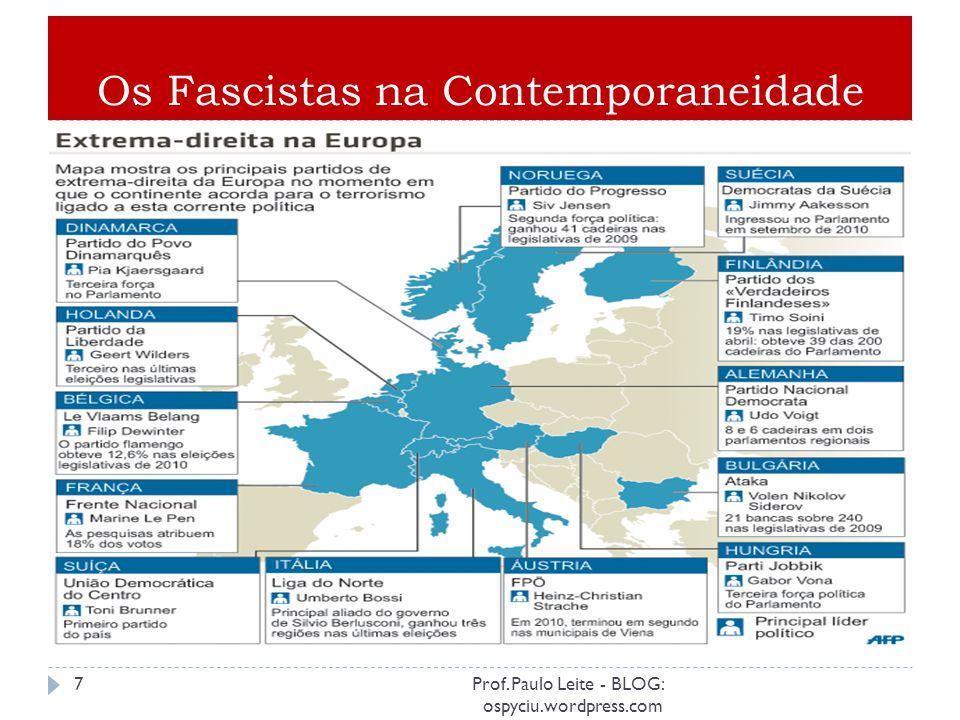 Política de extermínio: antissemitismo/etnocídio. 6Prof. Paulo Leite - BLOG: ospyciu.wordpress.com