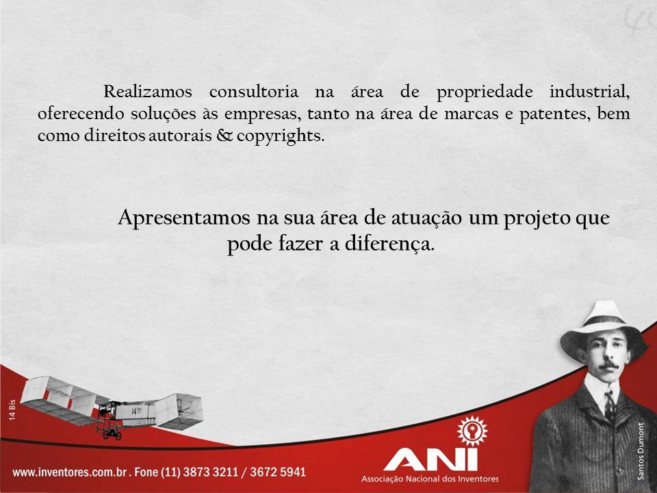 Realizamos consultoria na área de propriedade industrial, oferecendo soluções às empresas, tanto na área de marcas e patentes, bem como direitos autor