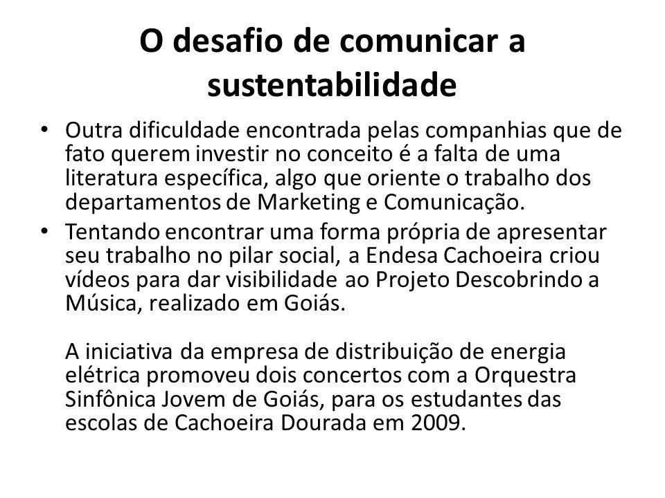 O desafio de comunicar a sustentabilidade Endesa aposta em vídeos corporativos O desafio era comunicar a ação com credibilidade.